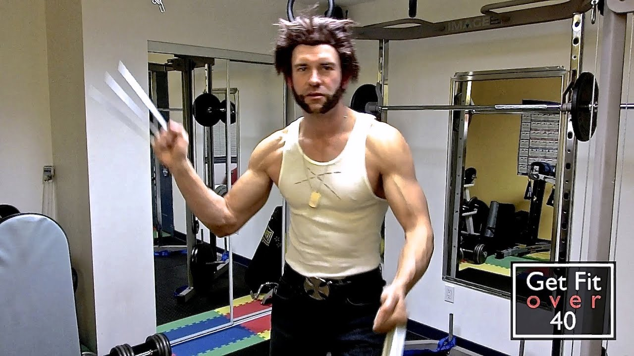 sc 1 st  YouTube & X-Men Wolverine Halloween Costume 2013 - YouTube