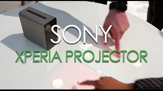Sony Xperia Projector first look