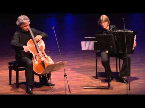 Cello Biennale - Raphael Pidoux & Elodie Soulard playing Popper