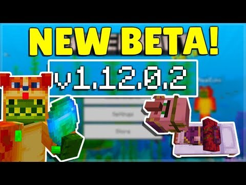 MCPE 1.12.0.2 BETA NEW API MODDING! Minecraft Pocket Edition