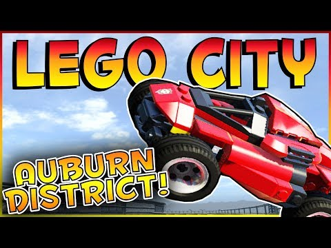 Lego City Undercover | AUBURN DISTRICT & CAR THEFT! | Lego C