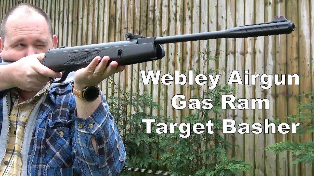 REVIEW: Webley Break Barrel Airgun - Gas Ram Air Rifle