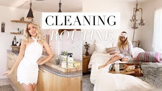 Gambar cover MY CLEANING ROUTINE + GIVEAWAY & PRETTIEST AIRBNB APARTMENT TOUR ✨ Vlog #13