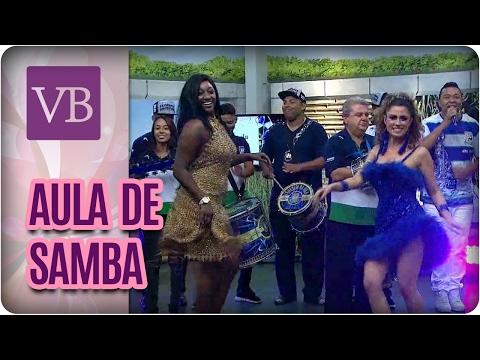 Aula de Samba com Unidos da Vila Maria - Você Bonita (17/02/17)