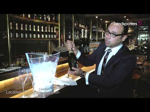 How to store, open & serve a bottle of Chandon with Rohan Jelkie