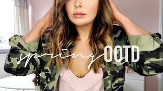 SPRING OUTFIT IDEA | MY SPRING STYLE | APRIL OOTD 2017