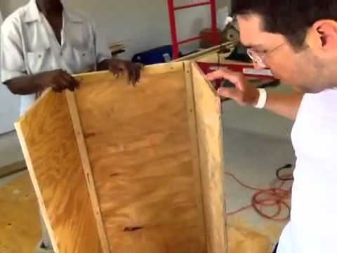 Building a Solar Dehydrator in Grand Bahamas (part 1)