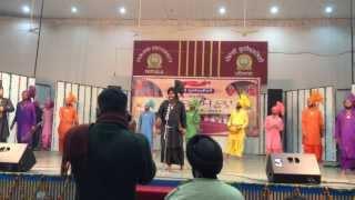 khalsa college patiala malwai gidha 2014 winner team