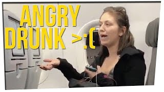 Woman Arrested for Spitting & Drunkenly Yelling on a Flight