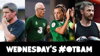 LIVE: OTB AM | Ronan O'Gara, Ireland's #RWC hopes, The Swiss Angle, Andy Lee in Belfast, GAA |