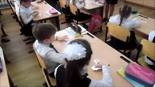 Урок математики в 1 В классе wlmp