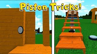 Insane Piston Tricks In Build A Boat For Treasure In Roblox