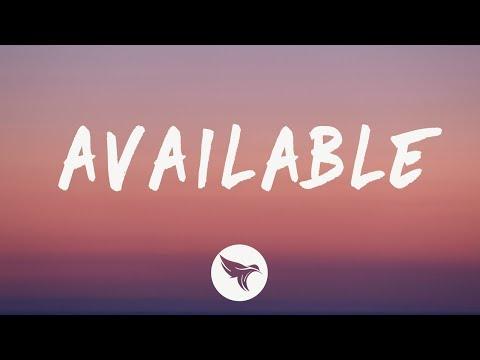 Justin Bieber - Available (Lyrics)