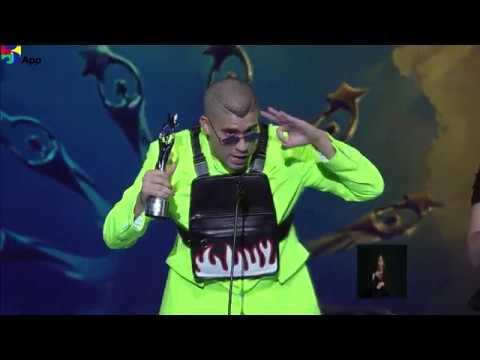 Bad Bunny Soberano Internacional Premios Soberano 2019