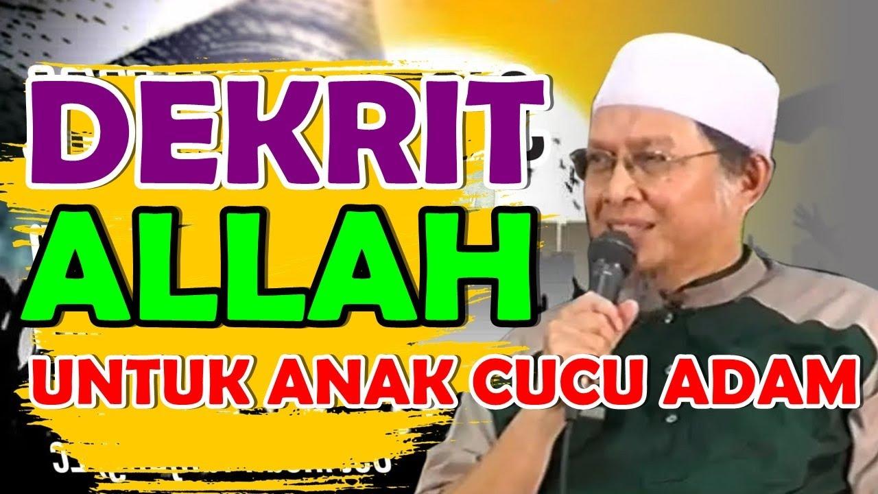 DEKRIT ALLAH KEPADA ANAK CUCU ADAM Ustadz Ihsan Tanjung