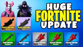 Fortnite *SHOTGUN EDITION*, Sniper Shootout V2, GRIM REAPER Skin (HUGE PATCH UPDATE) | Chaos