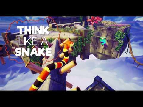 Состоялся релиз игры Snake Pass, поддерживающей Xbox Play Anywhere