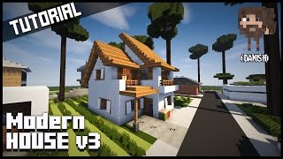 Minecraft Tutorial | Moderne hus v3