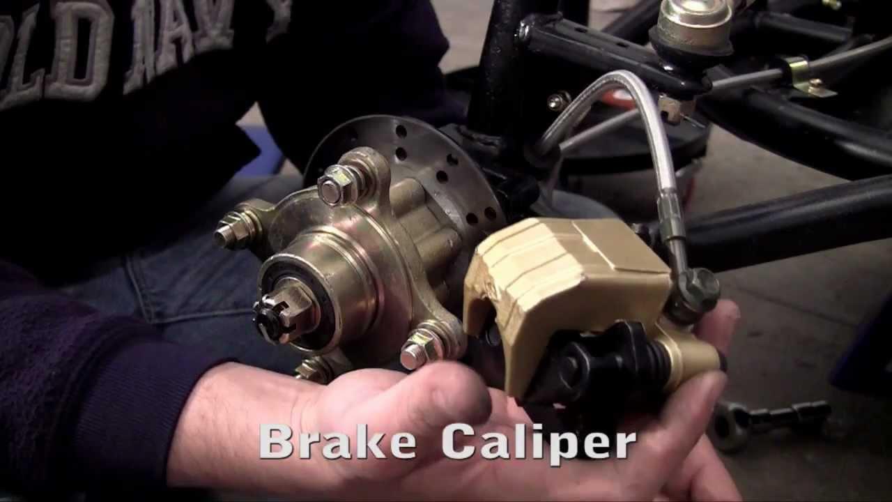 how to build a go kart 11 brake caliper [ 1280 x 720 Pixel ]