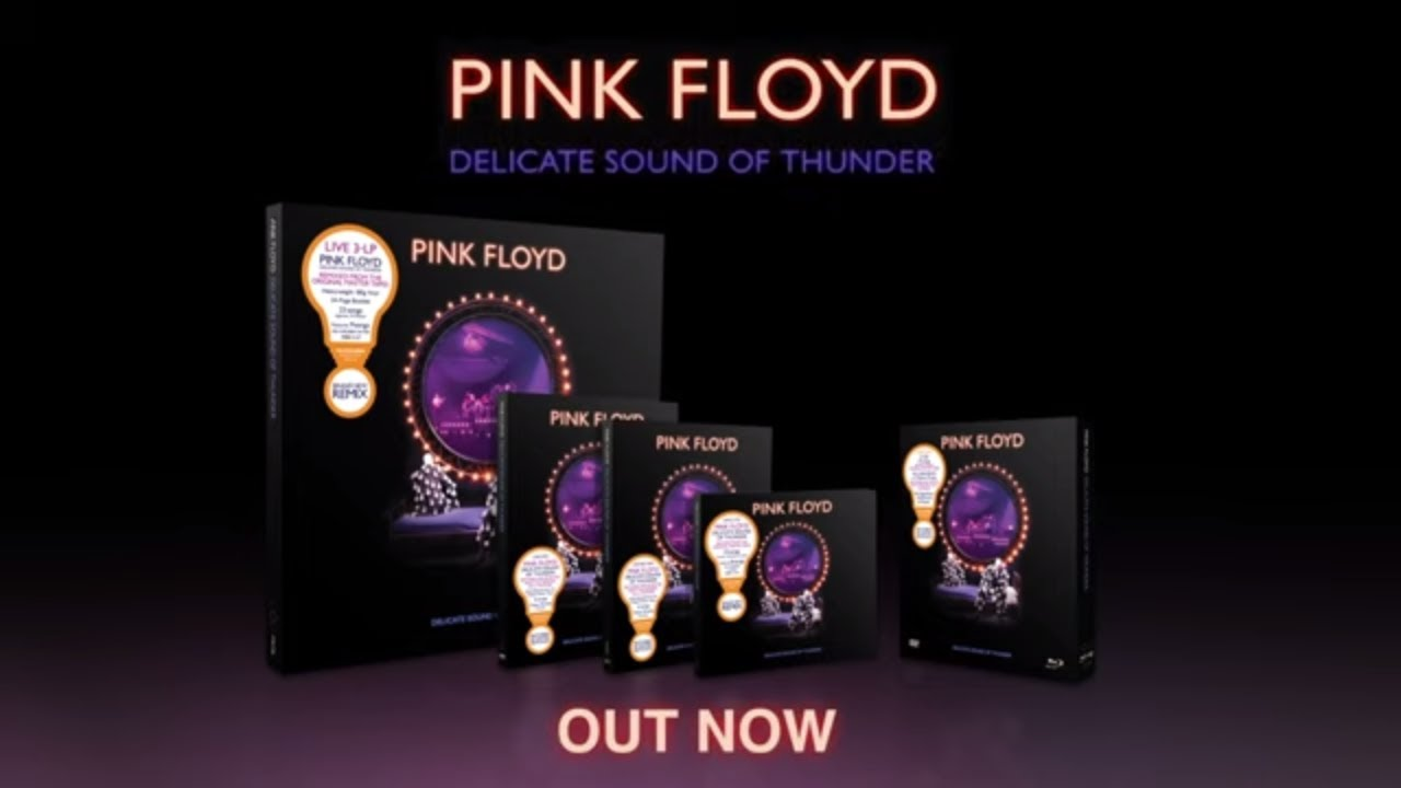 Pink Floyd - Delicate Sound Of Thunder (Unboxing Video)