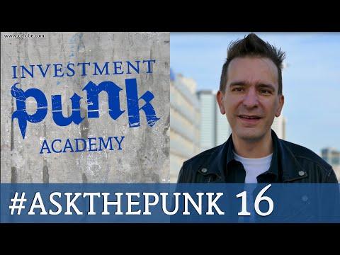 Aktienkäufe auf Kredit | Finanzierungsform von Immobilien #ASK THE PUNK 16 Frankfurt