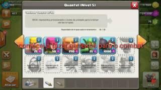 Clash of clans/destruindo geral #1