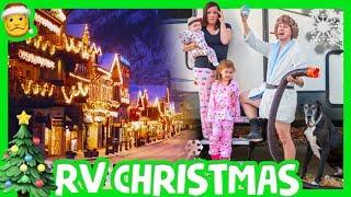 🎄 CHRISTMAS TOWN RV ADVENTURE ☃ Full Time RV living with Kids Leavenworth Washington 🎅
