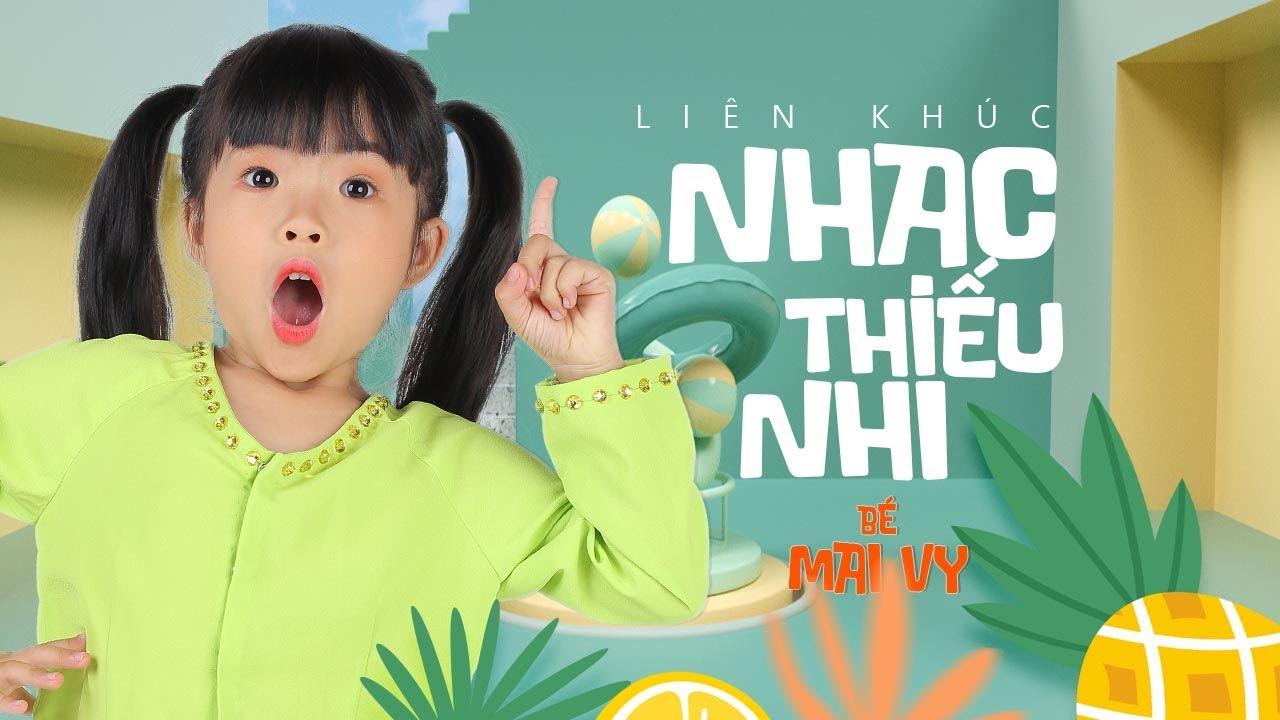 LK Thiếu Nhi Bé Mai Vy Thần Đồng Âm Nhạc Việt Nam - Tập Tầm Vông, Một Con Vịt Xòe Ra 2 Cái Cánh