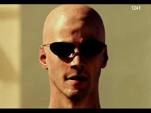 The Matrix: CGI Model of Keanu Reeves / Neo