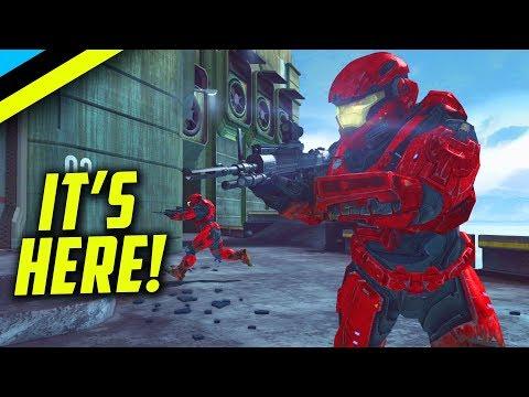 Halo Reach On MCC Is Here! 60FPS Multiplayer Never Felt So Good