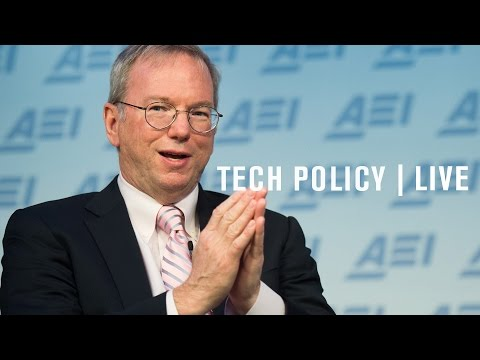 Eric Schmidt: Technology and the case for optimism | LIVE STREAM