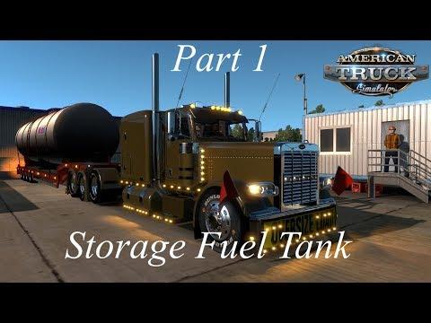 American Truck Simulator K.C To Springfield Mo (Fuel Tank) (Part 1)