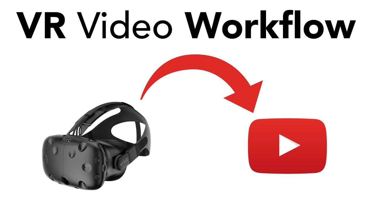 My VR Video Workflow - Record + Edit VR Capture