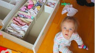ДЕТСКИЙ Влог: Хранение в детской комнате,  нужен совет , детские фото мужа, Асепта