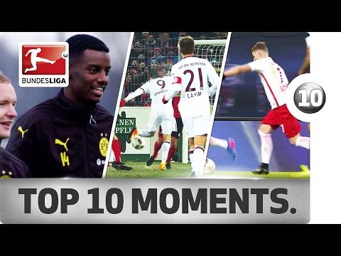 Top 10 Moments - January 2017 – Lewandowski Magic & Bundesliga Records