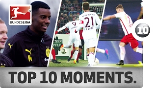Top 10 Moments - January 2017 – Lewandowski Magic & Bundesliga Records