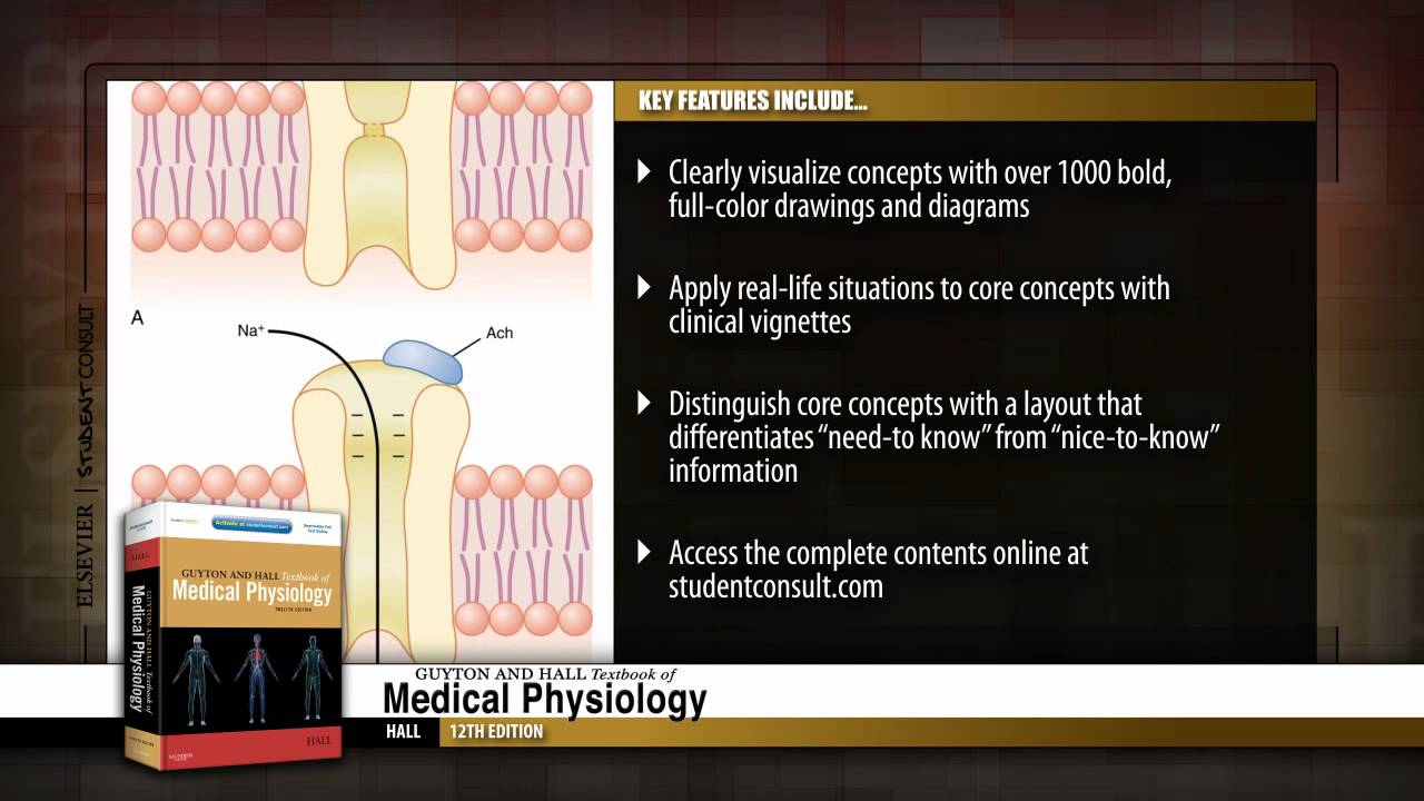 Guyton and Hall Textbook of Medical Physiology, 12th Edition - YouTube