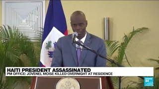 Haiti president Jovenel Moise assassinated  (Prime Minister office) • FRANCE 24 English