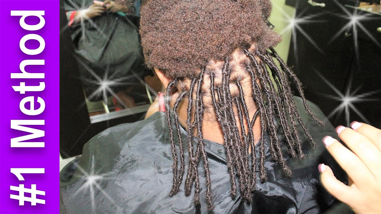 Extensions On Very Short Natural Hair Instant Dreads With Human