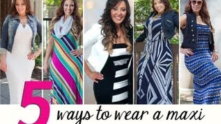 Five Ways To Wear A Maxi Dress | Makeup Geek