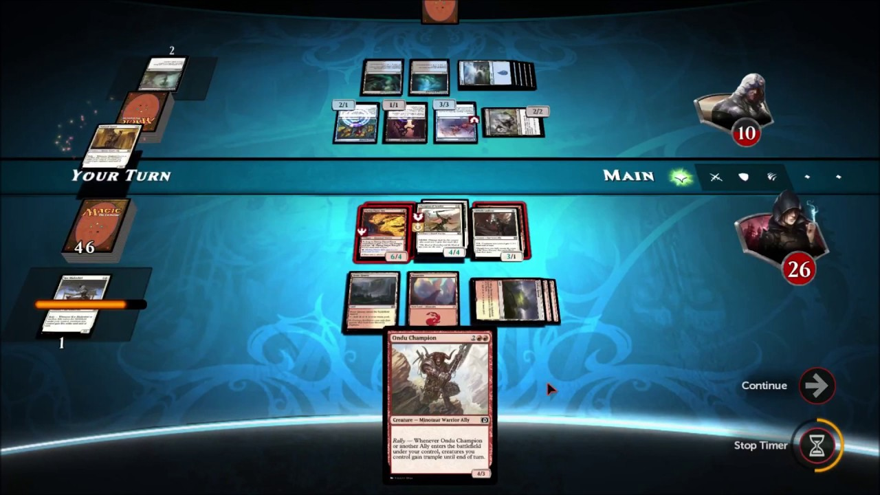 Critical Hit: Magic Duel with the twist