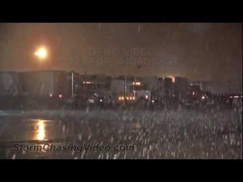 3/21/2013 Northeast, Arkansas Winter Storm Footage