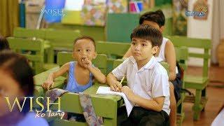 Wish Ko Lang: Pag-aaral ni Junior habang nag-aalaga sa kapatid