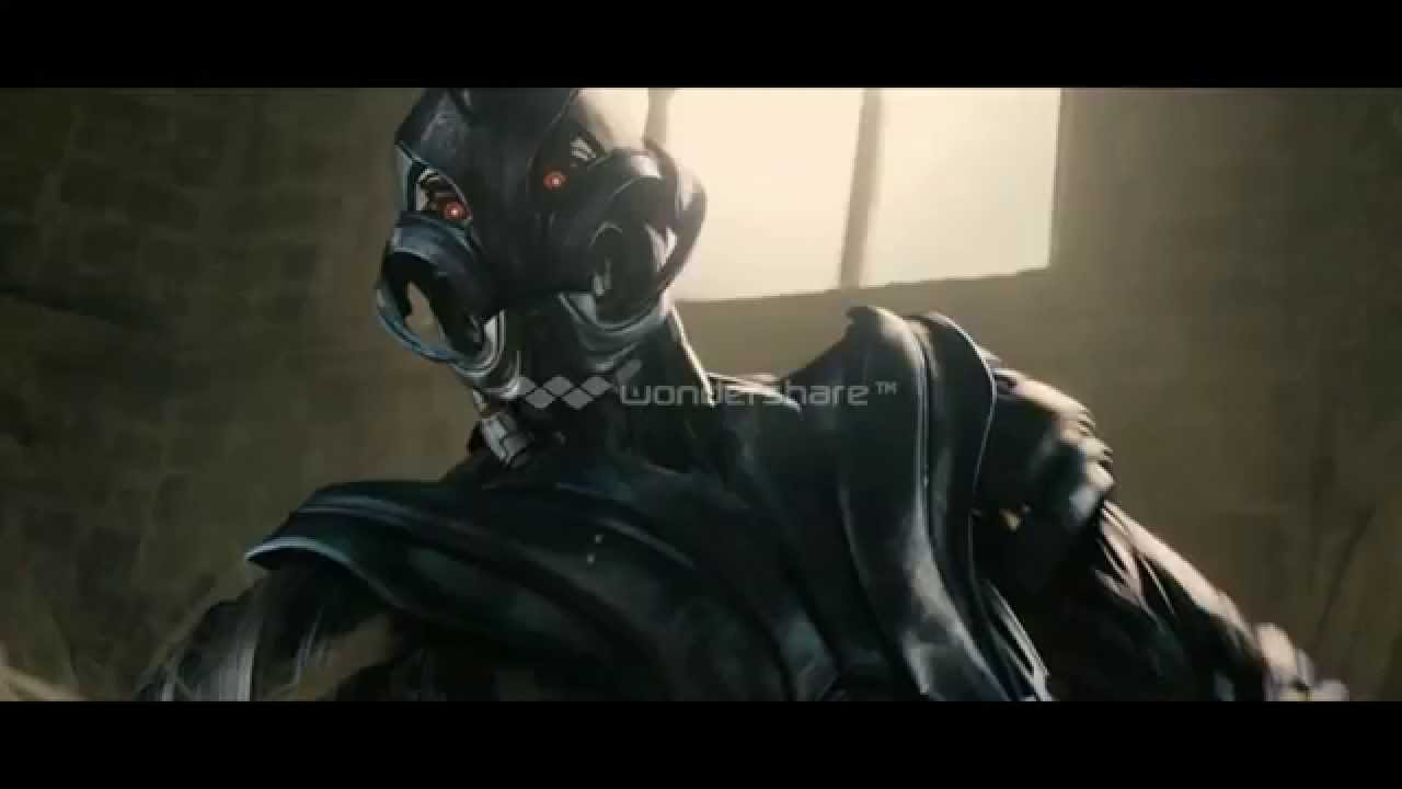 New Look at New Form of Ultron in Avengers Age of Ultron - YouTube