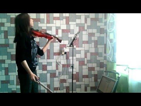 Крутая игра на скрипке! Офигенно