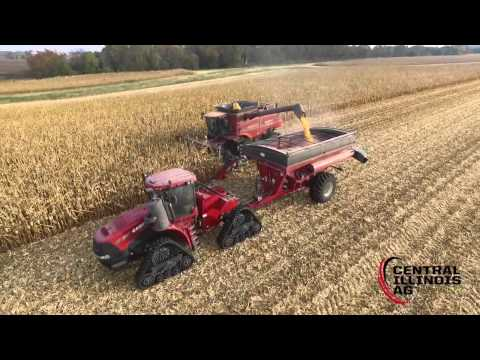 Central Illinois Ag - Harvest during Mid-Late October 2015