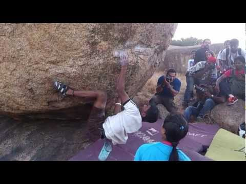 Hyderabad Climbing Championship 2012- Men Finals