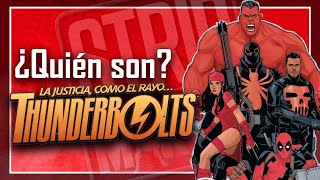 ¿Quién son REALMENTE los THUNDERBOLTS? ¡Conoce al equipo de Zemo, Red Hulk o Deadpool!
