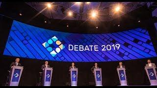 Los momentos clave del primer debate presidencial en Argentina