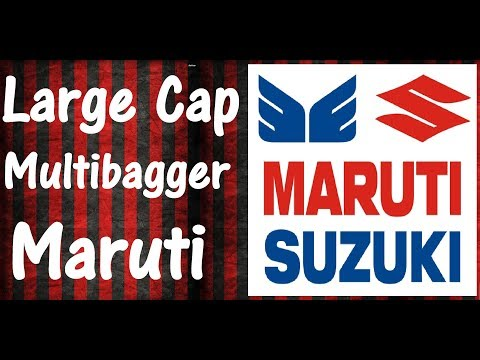 LARGE CAP MULTIBAGGER STOCK - MARUTI SUZUKI LTD | Electric Vehicles Coming Soon
